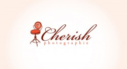 Cherish Photographie1 250x136 Logo Design Gallery